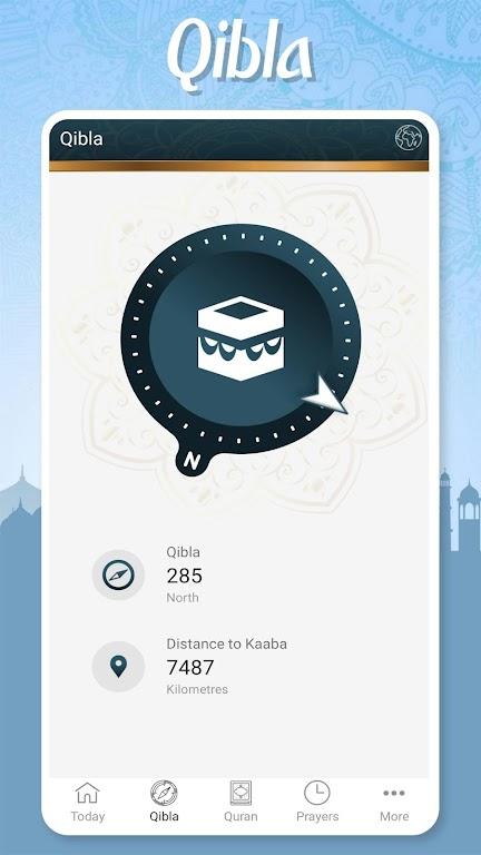Muslim Pocket - Prayer Times, Azan, Quran & Qibla  poster 2