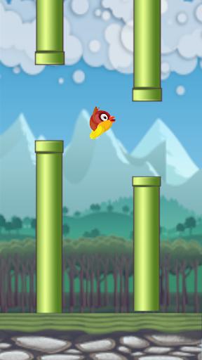 Flying Bird - Flapper Birdie Game  screenshots 8