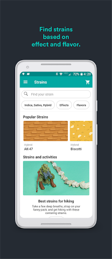Weedmaps: Marijuana, Cannabis, CBD & Weed Delivery android2mod screenshots 7