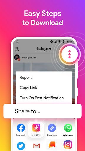Downloader for Instagram android2mod screenshots 2