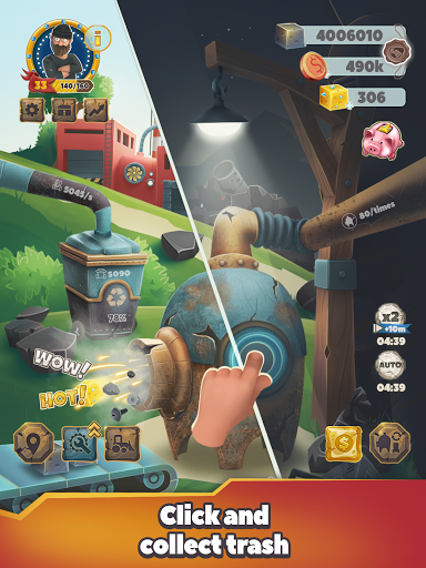 Trash Tycoon: idle clicker & simulator & business 0.1.3 screenshots 13