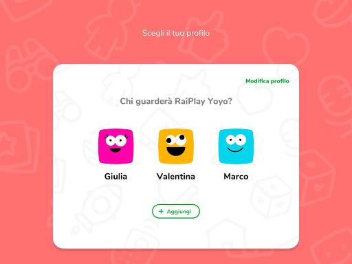 RaiPlay Yoyo 1.0.8 Screenshots 9