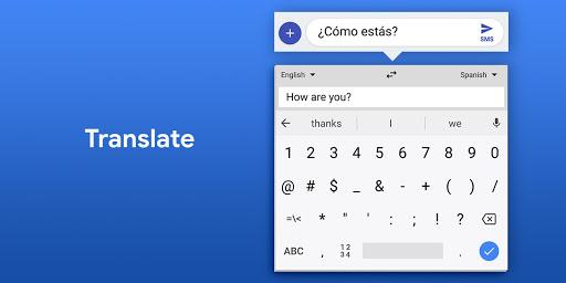 Gboard - the Google Keyboard android2mod screenshots 7