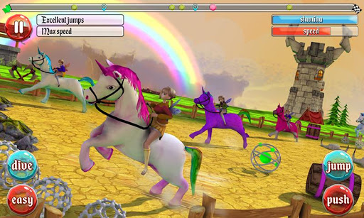 ultimate unicorn dash 3d screenshot 1