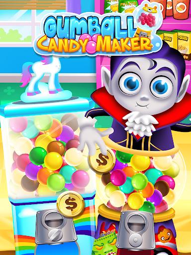 Bubble Gum Maker: Rainbow Gumball Games Free screenshots 1