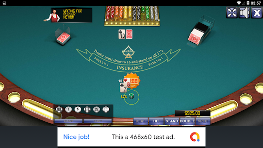 BLACK JACK (FREE) 1.0 MOD for Android 3