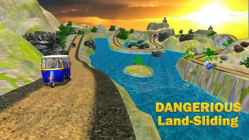 Chingchi Game Simulator : Crazy Tuk Tuk Rickshaw apktreat screenshots 2