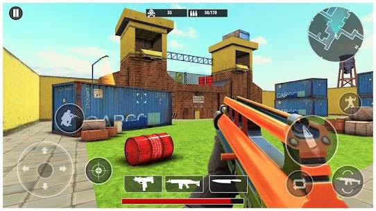 Critical Cover strike 2020: Fire Shoot Gun Games Hack Online (Android iOS) 3