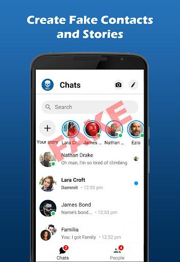 Fakenger Pro (Ad-Free) - Prank chat screenshots 1