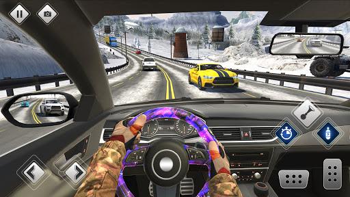Highway Driving Car Racing Game : Car Games 2020 apktram screenshots 1