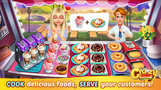 Crazy Chef: Fast Restaurant Cooking Games  screenshots 11