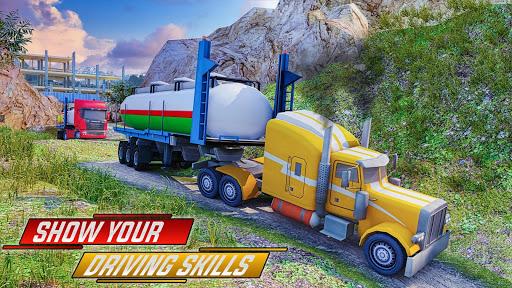 Offroad Oil Tanker Truck Simulator: Driving Games  screenshots 4
