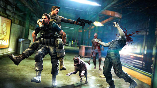 Survival Zombie Games 3D : Free Shooting Games FPS apkslow screenshots 11