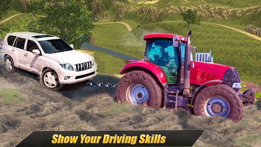 Heavy Tractor Pulling & Farming Drive Simulator screenshots 5