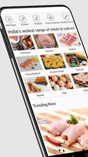 Licious- Fresh Chicken, Fish, Mutton & Eggs Online 3.28.1 screenshots 1