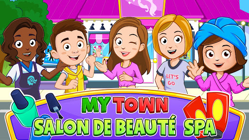 My Town : Beauty Spa Saloon APK MOD – ressources Illimitées (Astuce) screenshots hack proof 1