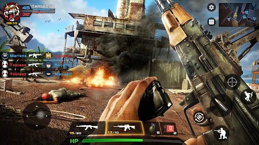 Critical Action :Gun Strike Ops - Shooting Game 2.6.01 screenshots 5