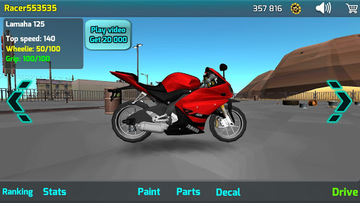 Wheelie King 4 - Online Getaway Wheelie bike 3D 1 screenshots 17