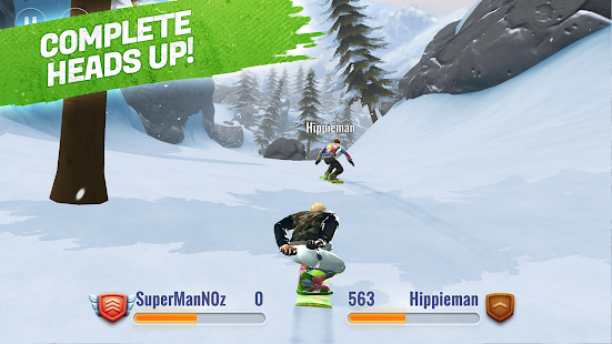 Peak Rider Snowboarding Screenshot
