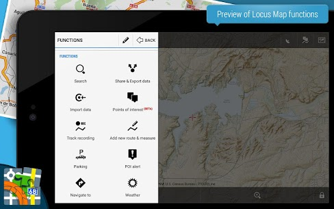 Locus Map Pro Apk- Outdoor GPS navigation and maps (Paid) 9