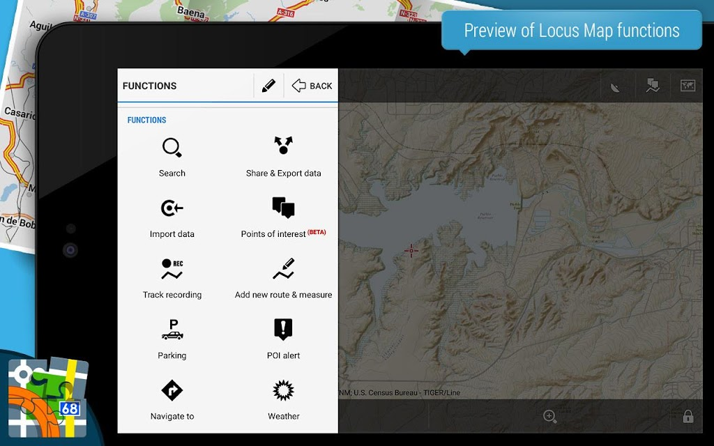Locus Map Pro - Outdoor GPS navigation and maps  poster 8