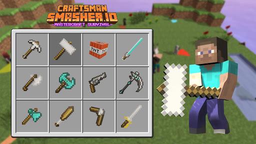 Craftsman Smasher.io - Mastercraft Survival  screenshots 23