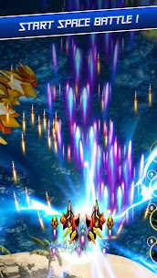 Galaxy Shooter: Wings Fighting + Idle Boss 2020 1.2.6 APK with Mod + Data 3