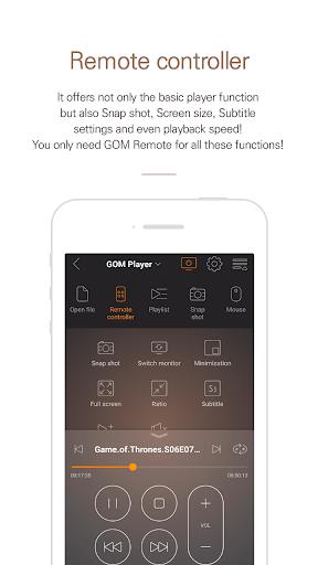 Foto do GOM Remote - Remote Controller