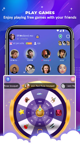 OyeTalk - Live Voice Chat Room android2mod screenshots 3