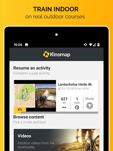 Kinomap - Indoor training videos  Screenshots 8