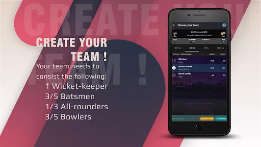 CricWhiz - PLAY Fantasy Cricket & WIN Big Prizes! apkdebit screenshots 4