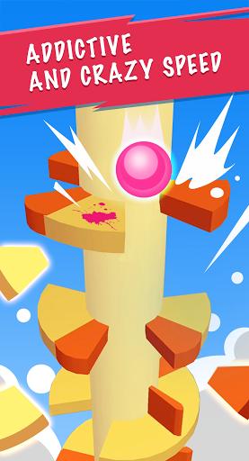 3D Helix Jump - Jumping Spiral Ball Games  apktcs 1