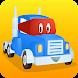 スーパートラックのカールが道路工事:掘って、岩を削って、建てよう - Androidアプリ