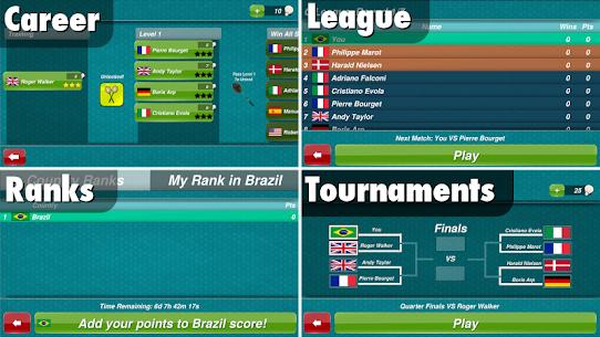 Badminton 3D [Mod, Premium Unlocked] 2