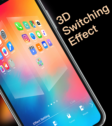 X Launcher Prime | Stylish OS Theme Phone X Max 1.1.1 Screenshots 5