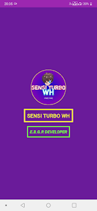 Sensi Turbo WH 1
