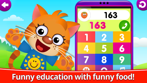 Funny Food 123! Kids Number Games for Toddlers  screenshots 4