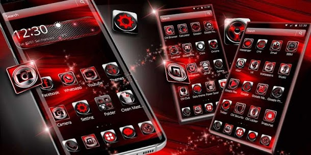 3d black red theme For Pc (Windows 7/8/10 And Mac) 4