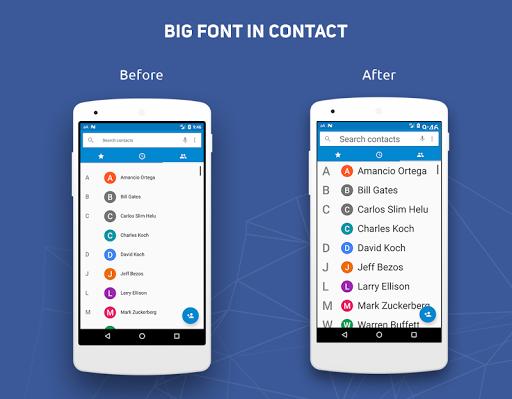 Big Font - Change Font Size & Text Size  Screenshots 2