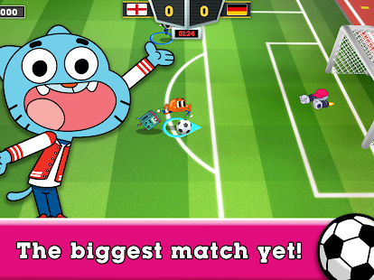Toon Cup 2020 - Cartoon Network's Football Game Screenshot