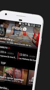 Mitele - Mediaset Spain VOD TV Screenshot