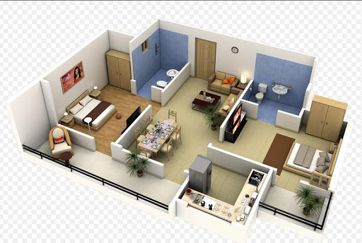 3D Home Plan Design For PC Windows (7, 8, 10, 10X) & Mac Computer Image Number- 11