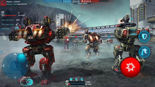 Robot Warfare: Mech Battle 3D PvP FPS Hack Game Android & iOS 5