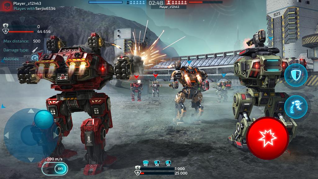 Robot Warfare: Mech Battle 3D PvP FPS  poster 4