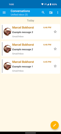 FairEmail, privacy first email screenshots 3