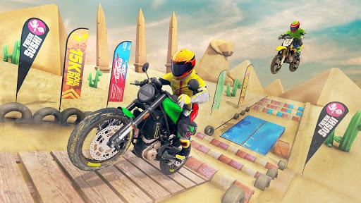 Racing Bike Stunt Games 2021 : Bike Race Game 3D Apkfinish screenshots 9