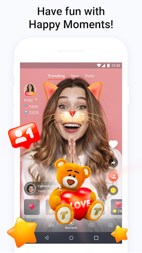 Tango - Live Video Broadcasts and Streaming Chats 6.37.1609341756 Screenshots 4