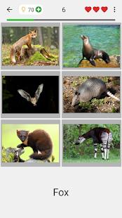 Animals Quiz - Learn All Mammals and Dinosaurs! screenshots 12