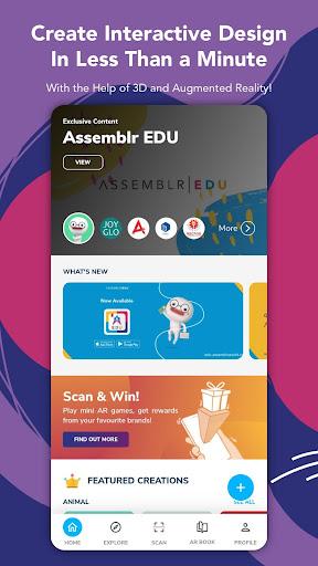 Assemblr - Make 3D, Images & Text, Show in AR! 3.394 Screenshots 1