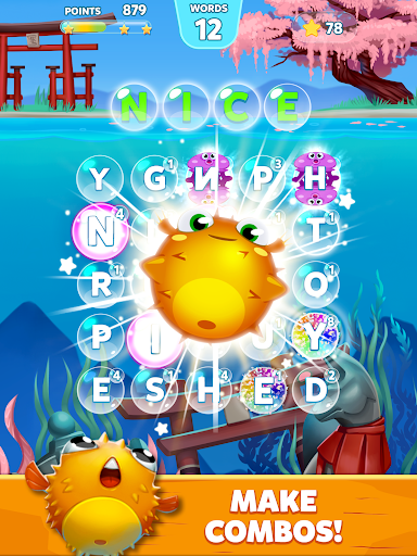 Bubble Words - Word Games Puzzle  screenshots 16